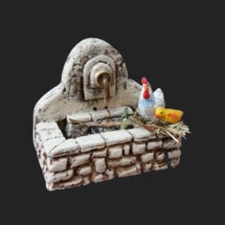 Atelier de Fanny mini fontaine animaux décors de crèche