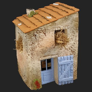 décors de crèche – Santons – maison de village 2 bis – Aubagne.jpg