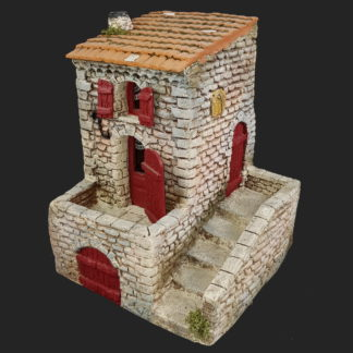 décors de crèche – Santons – maison de village 3 – Aubagne.jpg