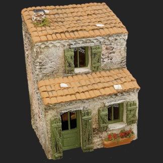décors de crèche – Santons – maison de village 6 bis – Aubagne.jpg