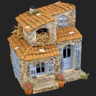 décors de crèche – Santons – maison de village 9 – Aubagne.jpg
